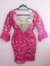 African lace with gold embroidery  Phoenix, 85043