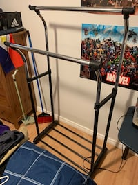 black and gray clothes rack Oakville, L6M 4S8