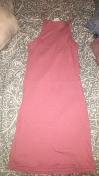 women's red spaghetti strap midi dress Richmond Hill, L4C 8B7