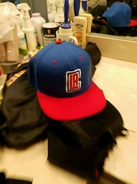 blue and red fitted cap San Diego, 92108