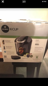 Black and gray keurig coffeemaker box Alexandria, 22304