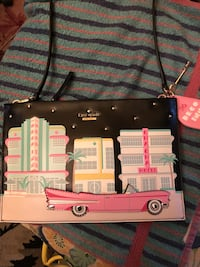 Kate Spade Retired Pink  Convertable Car Purse Hard To Find New Retired San Jose, 95125