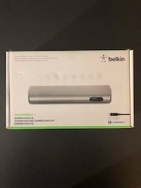 Belkin Thunderbolt 2 Express Dock HD with Cable Oslo, 0355