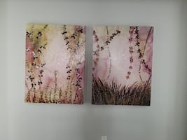 "Cherry Blossom (Pink) Canvas Art (40"" x 30"")"