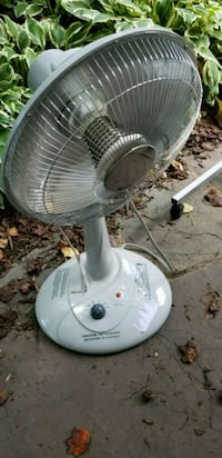 2 setting heat fan Burke