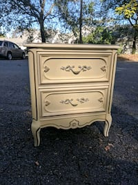 Vintage romantic side table with drawers Arlington, 22201