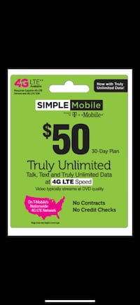 Simple mobile plan  Indianapolis, 46259