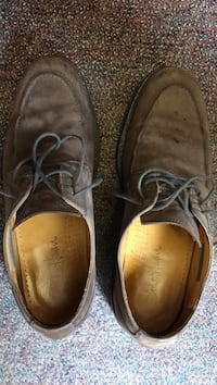 pair of brown laced shoes Ottawa, K2E