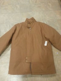 Mens warm jacket work king with tags Regina, S4N 3E9