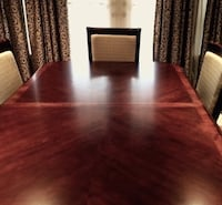 High End BASSETT Solid Walnut Dining Room Set EXCELLENT CONDITION!! Brampton, L6T 5E7
