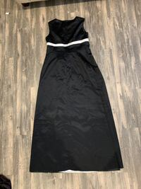 Black and White Formal Gown Large Ashburn, 20147