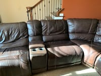 Recliner Leather Sectional  Allentown, 18103