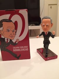 Calvin Coolidge Washington Nationals Bobblehead Rockville