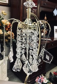New Crystal Lamp $22.99 or 2 for $37.99 Greensboro, 27406