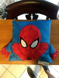 15 inch by 14 inch Spider-Man pillow Miami, 33179