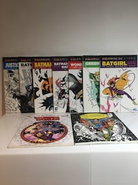 Dc comics colouring books Mississauga, L5C 3G1