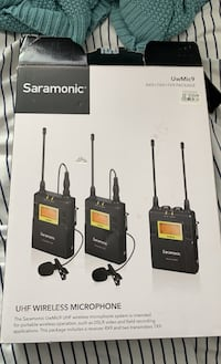 Saramonic UHF Wireless Audio Equipment