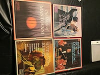 Easy listening record sets like new condition. Virginia Beach, 23452