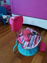 Journey girls doll hair salon chair and accessorie London, N5W 1K7