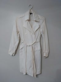 Atmosphere White Trench Coat Saint Catharines, L2S 2T5