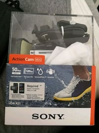 Sony hdr z action camera  6221 km