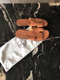 Hermes man sandals. Size 42