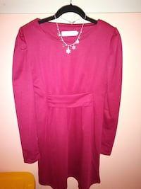 Red long sleeve dress, China size XL Beltsville, 20705