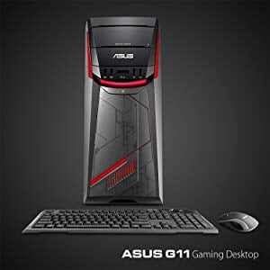 Asus mid tower case w psu,new mouse, keyboard