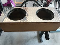 """Dual 10"""" Subwoofer Box Spring Hill, 34609"""