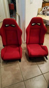 2 bucket seats, need to fab brackets.  Valrico, 33594
