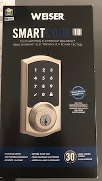 Brushed nickel door lock  3750 km