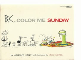B.C. Color Me Sunday Johnny Hart Dick Cavalli