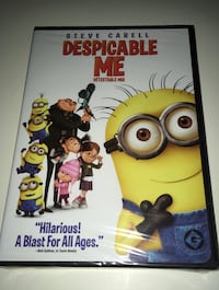 Despicable Me Dvd Movie Comedy English Spsnsh French 1h35m New Sealed