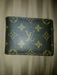 black and brown Louis Vuitton leather wallet San Diego