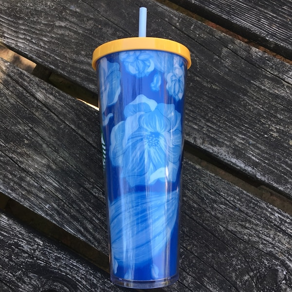 Blue Starbucks Tumbler-NEW 2