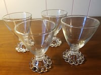 CLEAR DEPRESSION GLASS (43) Baltimore