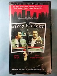 Mikey and Nicky vhs