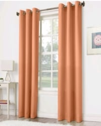 Peach Color Curtains /Panels NEW Richmond Hill, L4C 3T9