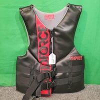 Liquid Force Vortex CGA Men's Large Life Jacket - Black & Red 73107