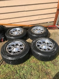 Fuel 18 inch rims on used Michelin's null, V0H 1R4