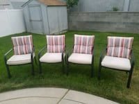 four white and green padded armchairs West Jordan, 84088