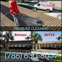 Pressure cleaning - Pressure washing - Soft wash - Sealing