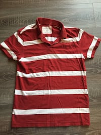 red and white striped polo shirt Bethesda, 20814