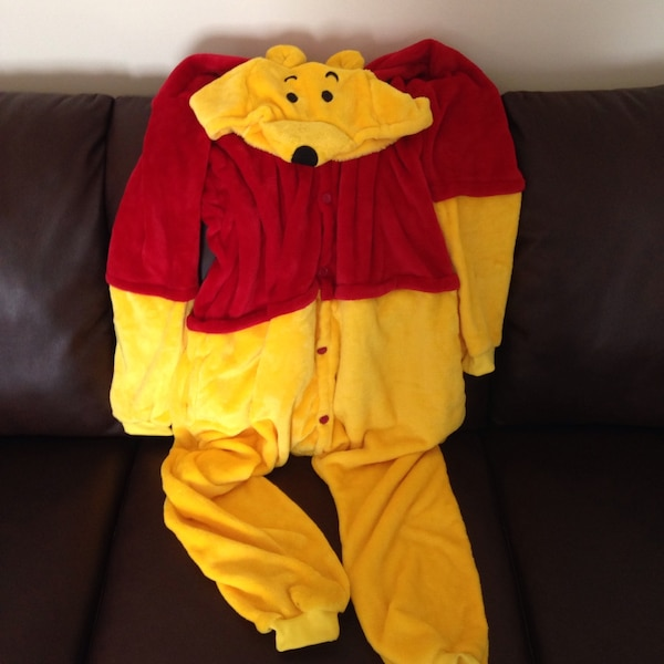 0566fc9a9805 Used Pooh Bear onesie. Size adult small for sale in Falls Church - letgo