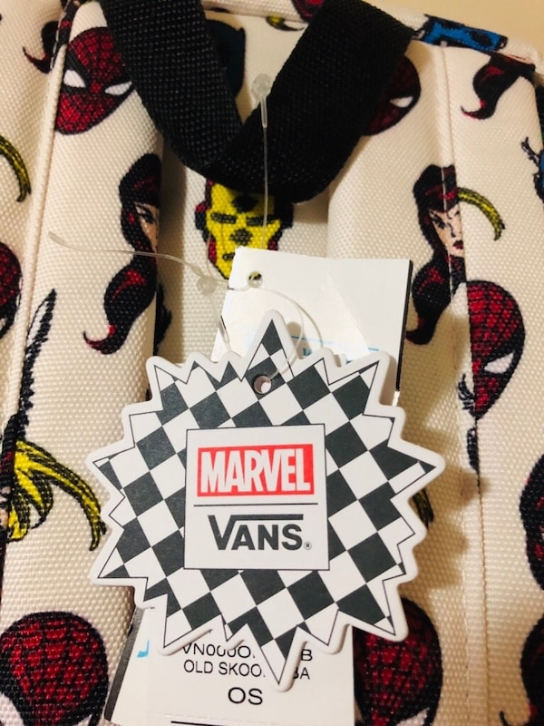 f636e4815db Used Vans Marvel Old Skool II Backpack Brand New With Tags for sale ...