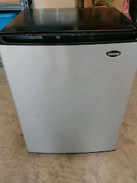 white and black Haier compact refrigerator Frederick, 21702