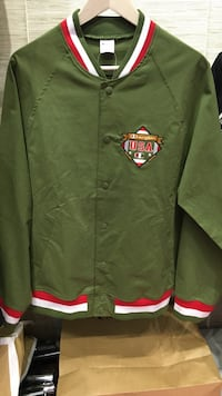 green, white, and red U.S.A Champions full zipped jacket 纽约市, 11354