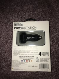 ADURO YoGrip Car Phone charger 4 Port USB Powerstation In Black  Perth Amboy, 08861