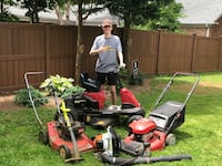 Teen lawn care business  Charlotte