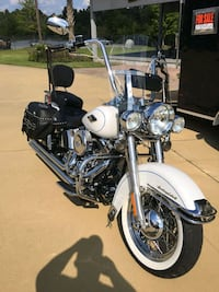white and black cruiser motorcycle West Columbia, 29169